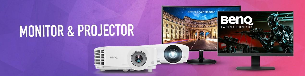 Monitor & projector